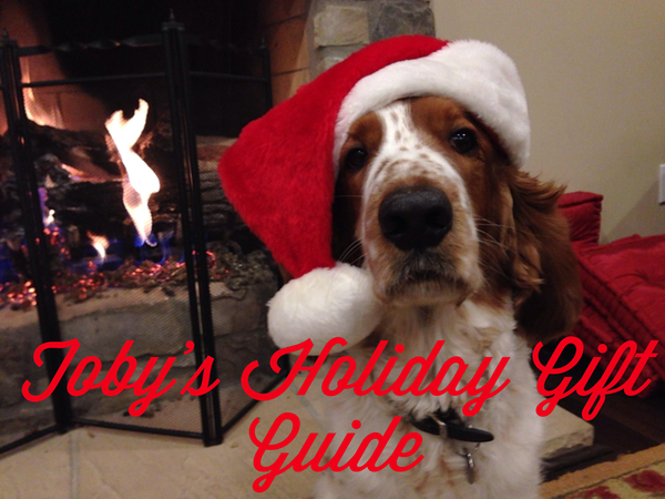The Holidays are upon us! Toby gives his top choices for holiday gifts for animal-lovers and their dogs!